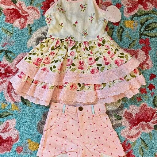 SweetHoney Belle Tunic & Shorts Set