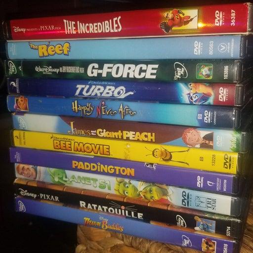 Lot of 11 KID'S DVD'S...