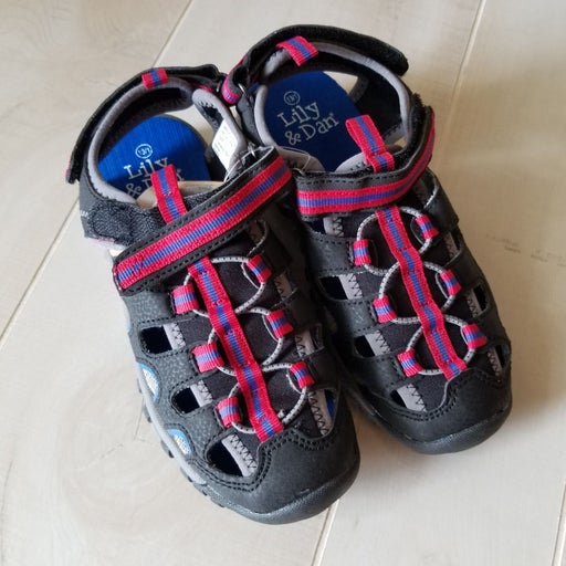 Lily and Dan Childrens Rugged Shoes