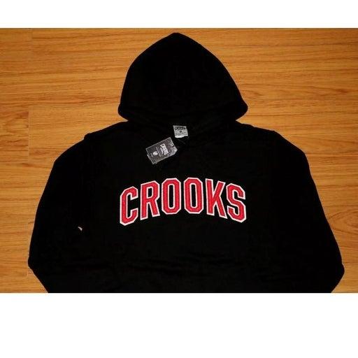 Crooks & Castles black hoodie SMALL
