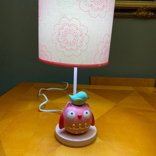 Crown crafts Owl/bird lamp and shade