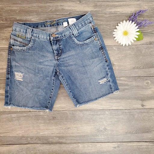 Cruel Girl Utility Fit Cut Off Shorts