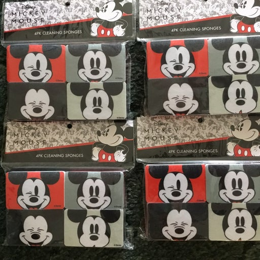 Disney Mickey Mouse cleaning sponges (16)