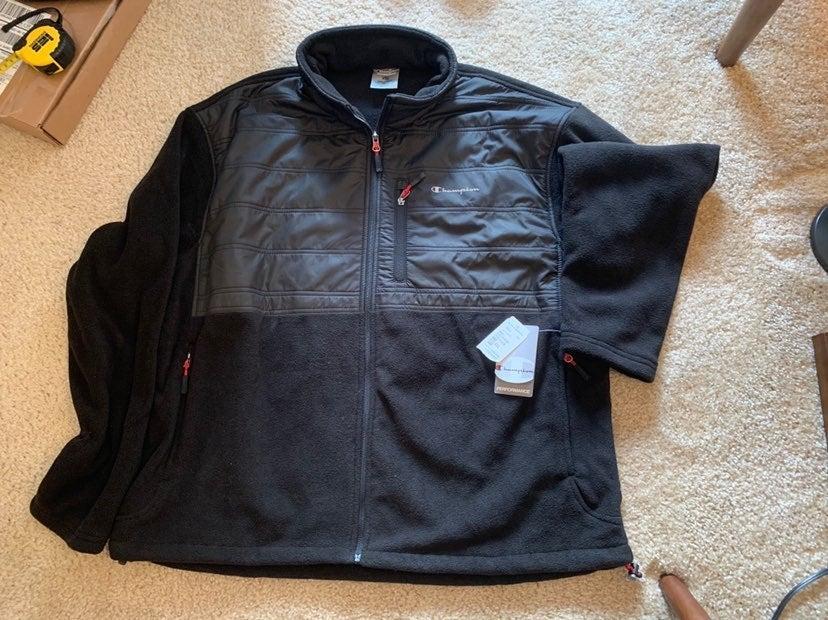 Black Champion Performance Jacket