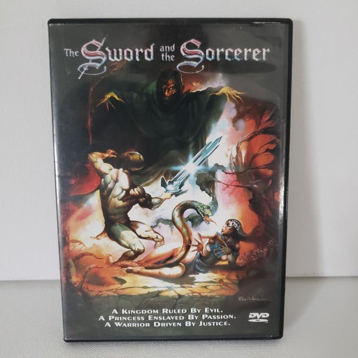 The Sword and the Sorcerer DVD
