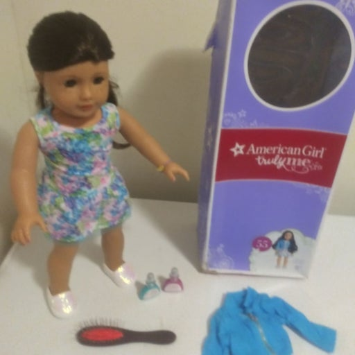 American girl truly me doll #55