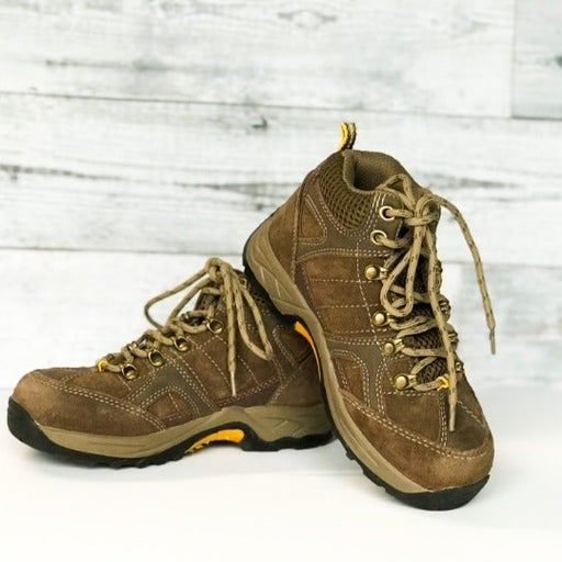 Coleman Boys Brown Hiking Boots