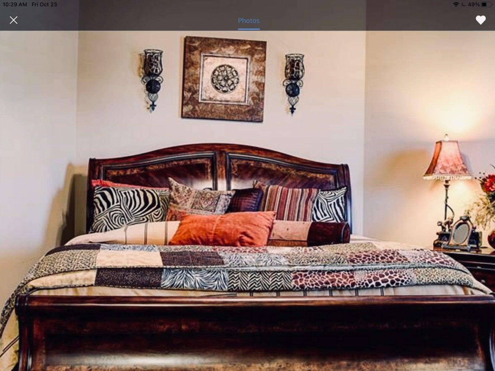 Chaps King size bedding bundle