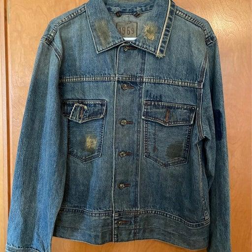 Mens 1969 jean jacket