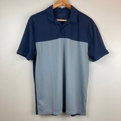 Nike Golf Dri-Fit Navy/Gray Polo Shirt