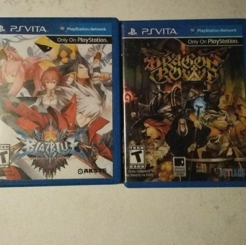BlazBlue: Chrono Phantasma and Dragon's