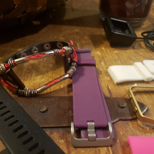 Fitbit Blaze with accessories