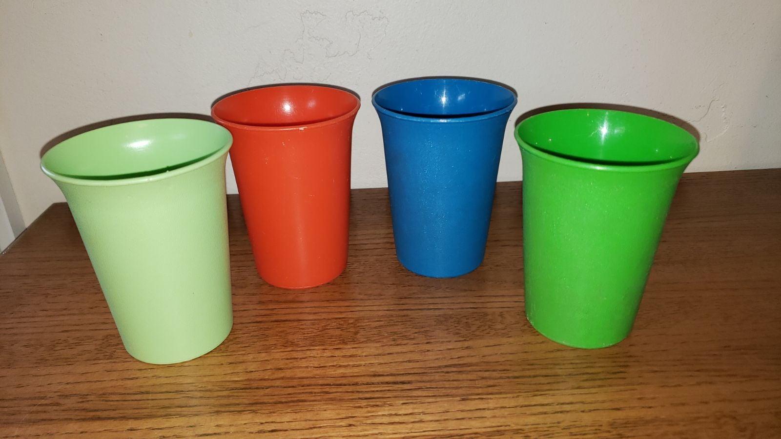 Tupperware kids cups tumblers