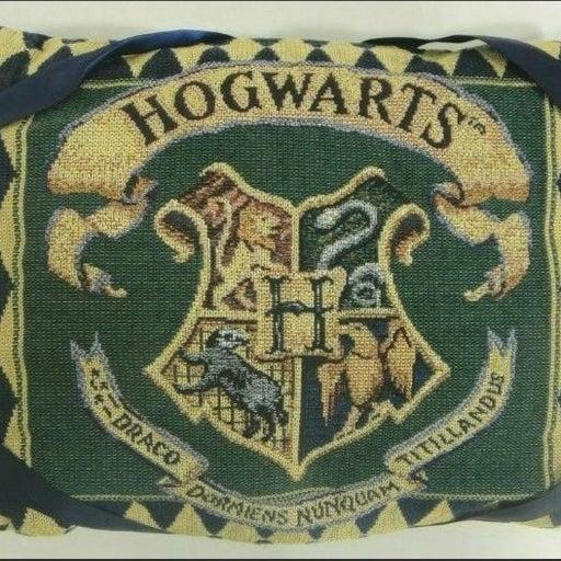Harry Potter Hogwarts Crest Pillow