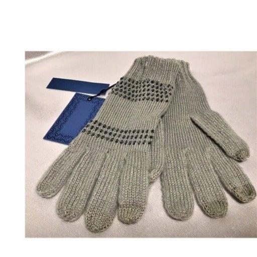 Simply Vera Womens Gloves Gray Silver