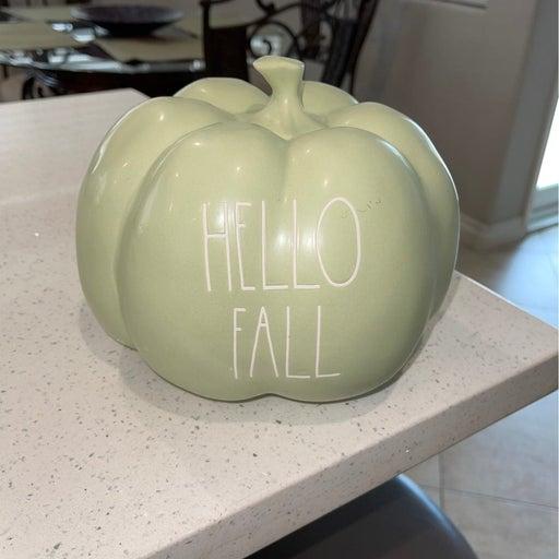 Rae Dunn Hello fall pumpkin