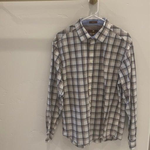 Egara Men's slim fit dress shirt XL