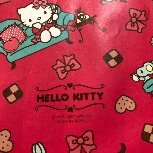Paper Bag Gift Sleeve Hello Kitty