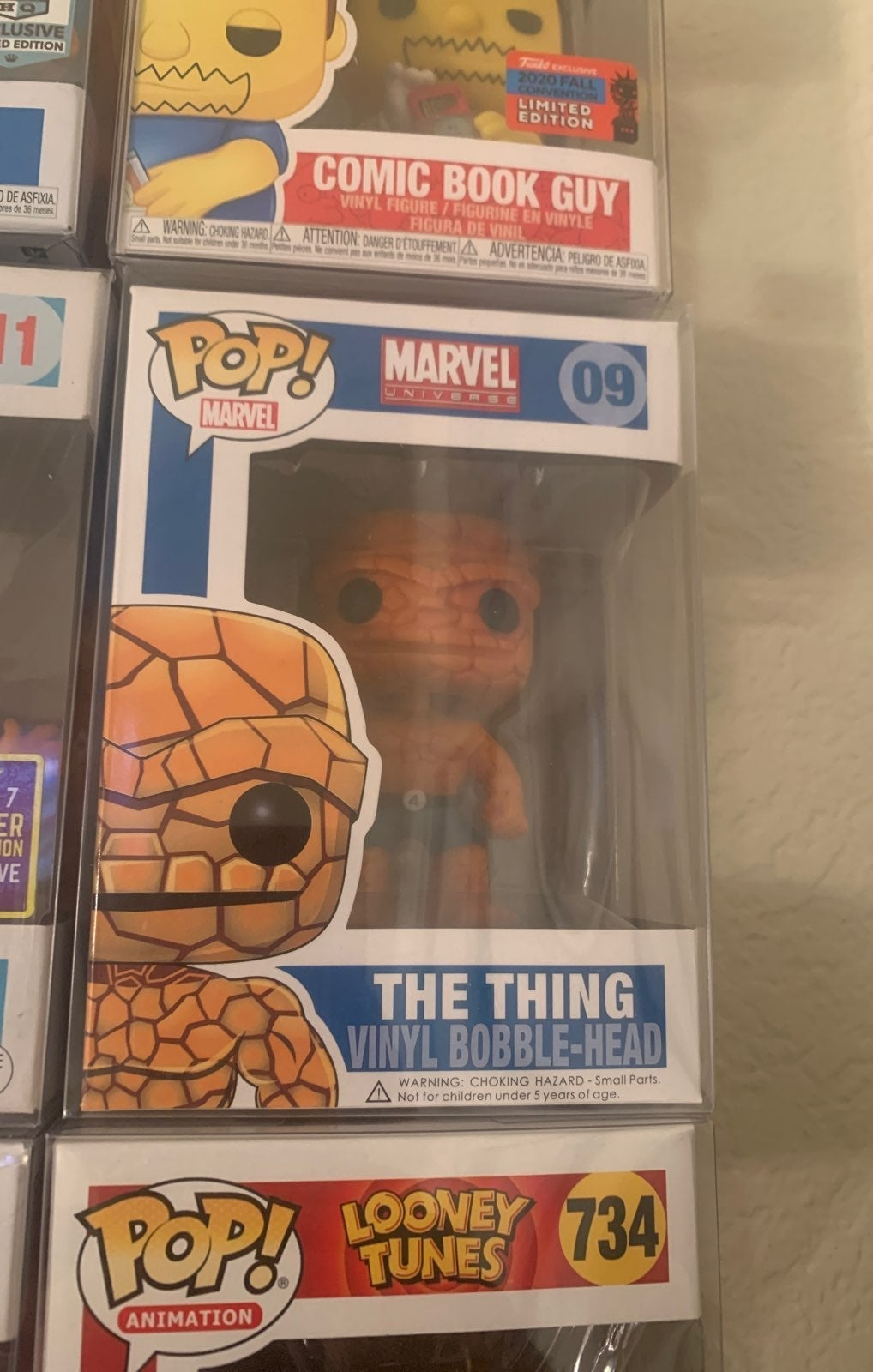 The thing funko pop valuted