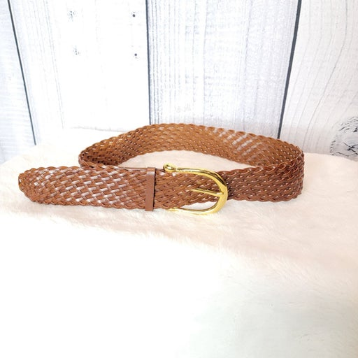 **Michael Kors brown braided belt M