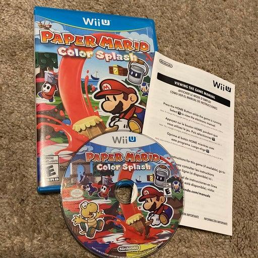 Paper Mario: Color Splash on Nintendo Wii U