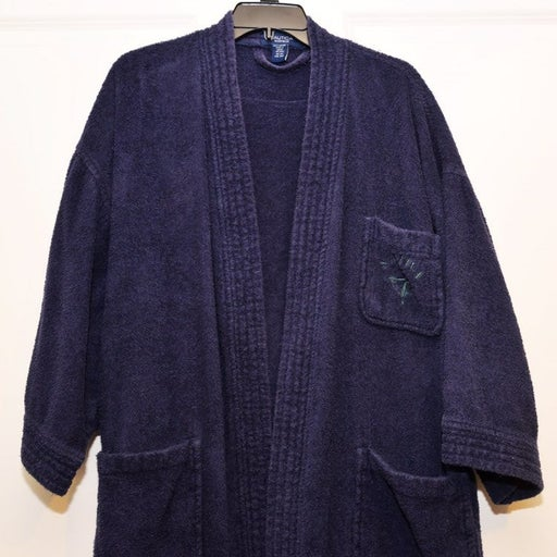 Nautica blue Robe