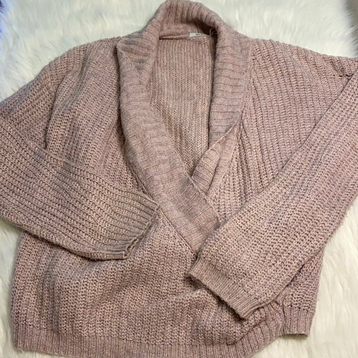 Urban outfitters pink knit sweater
