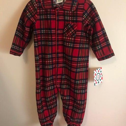 Plaid Sleepwear - 6 months