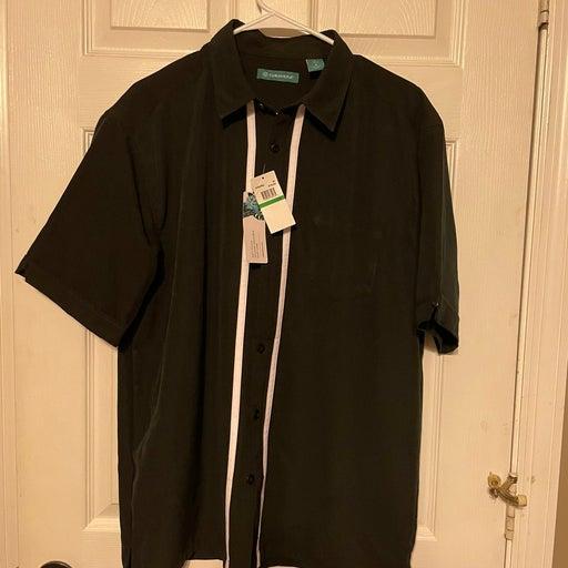 Cubavera Mens button down shirt size large