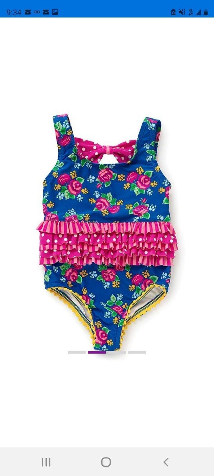 Pink 3T Jantzen Little Girls 1 Piece Retro Ocean Treasures Swimsuit