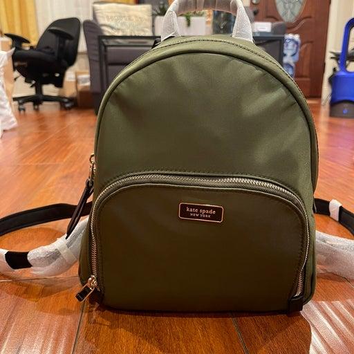 """Kate Spade Dawn Backpack """"army green"""""""