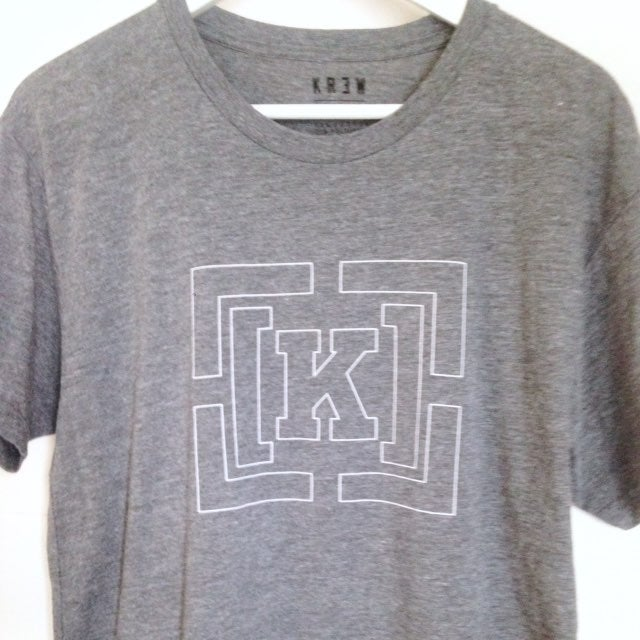 Krew Gray Short-Sleeve T-Shirt M