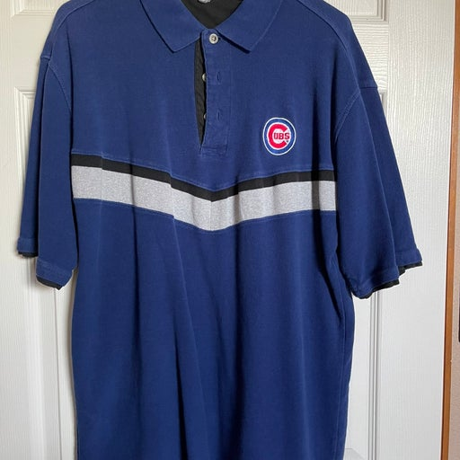 Vintage Cubs Collared Short Sleeve