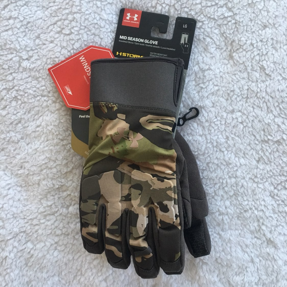 Under Armour Camo Insulted Gloves