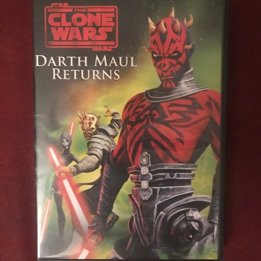Starwars clone wars darth maul returns dvd