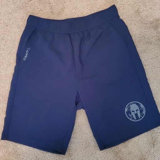 Navy Blue Craft Spartan Shorts sz Large