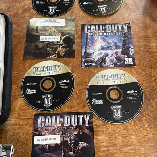 Call of Duty Game of the Year + United Offensive PC Game