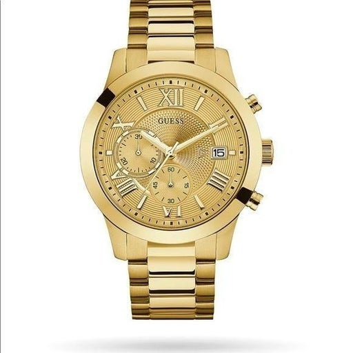 Guess Chronograph Gold-Tone Watch