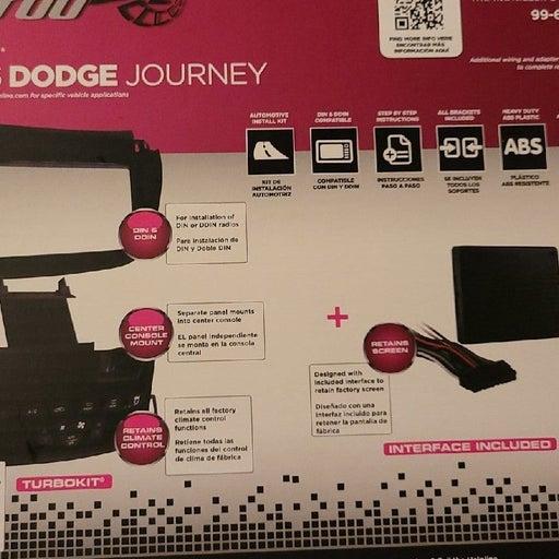 Metra Turbo2 dash wiring kit for Dodge J