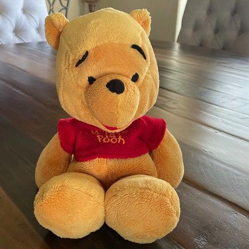 """Disney Winnie the Poo Bean Bag Plush 12"""""""