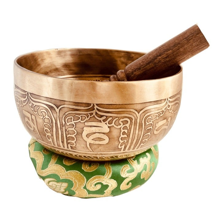 Hand Hammered Tibetan Singing Bowl Nepal