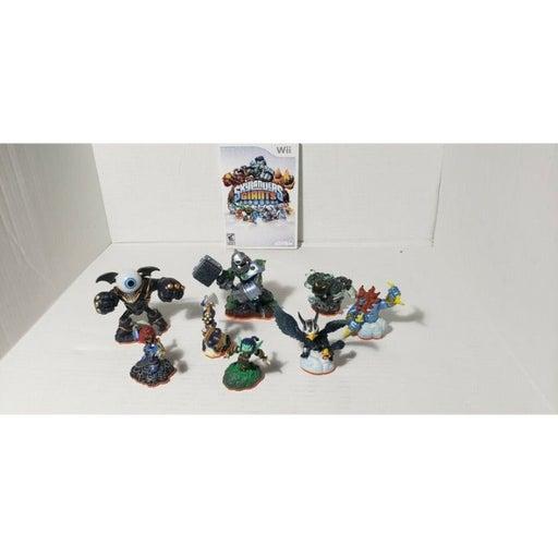 Skylander Giants For Wii Lot Game And