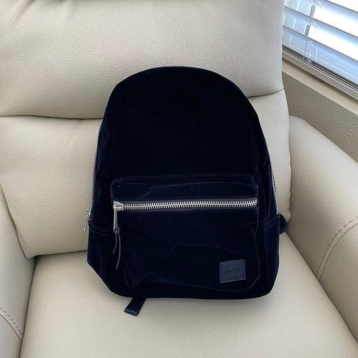 BNWT Blue Velvet backack