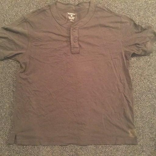 Ruff Hewn Short Sleeve Shirt, Size L