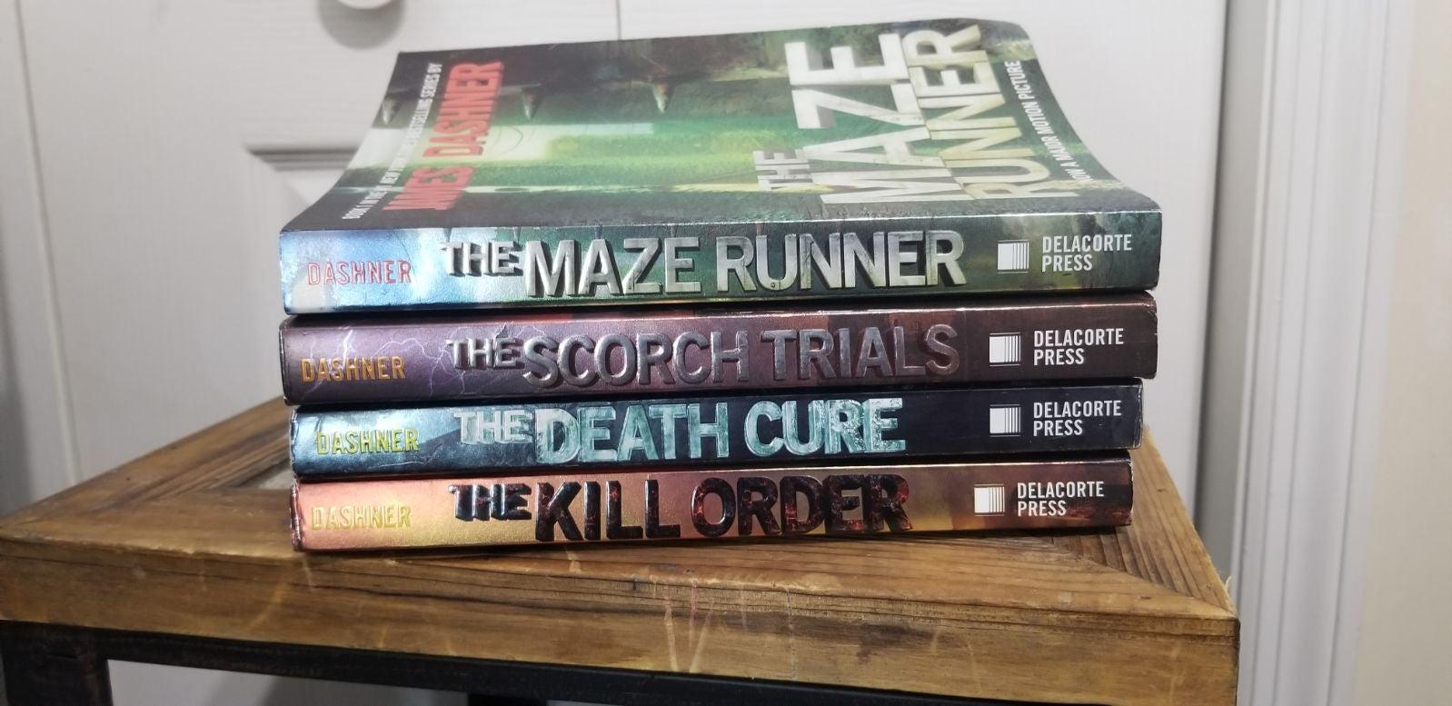 The Maze Runner books