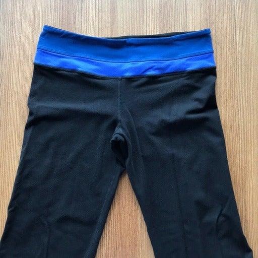 Lululemon Groove Pant Flare, Blue Waist