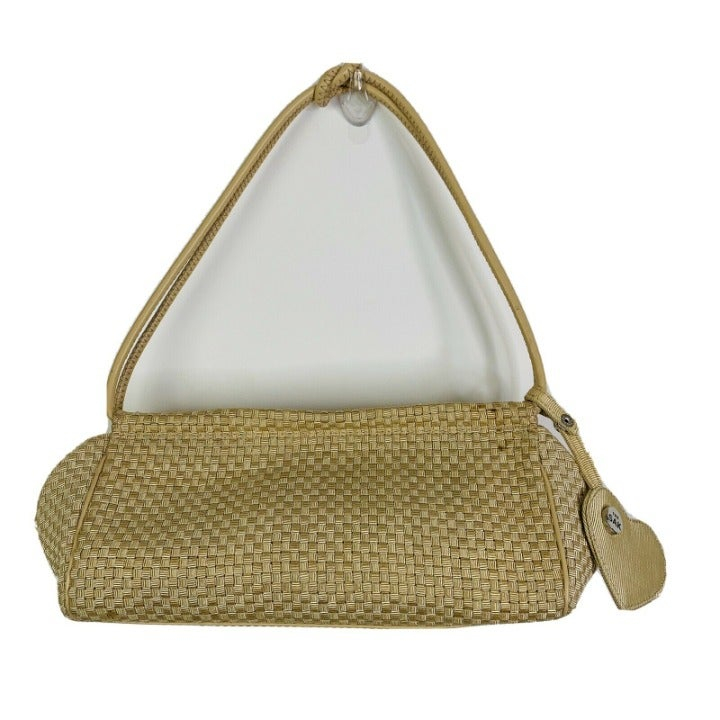 The Sak Basketweave Shoulder Bag Tan