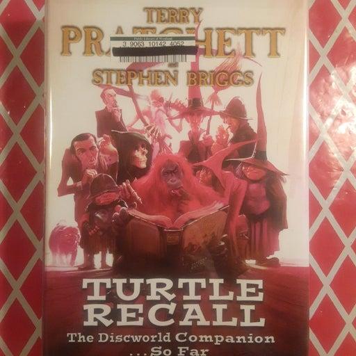 Turtle Recall: The Discworld Companion by Terry Pratchett & Stephen Briggs HC