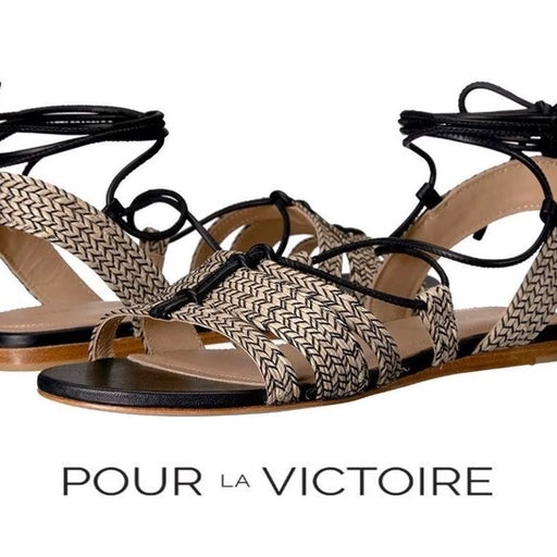 Pour La Victoire Lora Flat Sandal 7,5 M