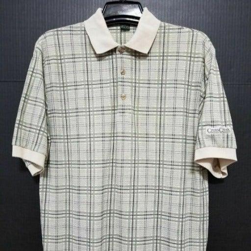 CROSS CREEK Mens Polo Shirt Size M